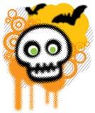 sztuki grunge Halloween Obrazy Royalty Free