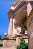 sztuki karać grzywną Francisco pałac San Fotografia Royalty Free