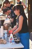 sztuki kawiarnia obraz royalty free