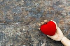 sztuki kierowy czerwony valentine wektor Obrazy Royalty Free