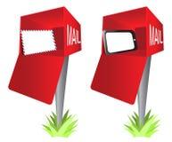 sztuki klamerki kopertowa skrzynka pocztowa ochraniacza komputeru osobisty pastylka Zdjęcie Stock