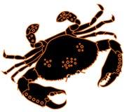 sztuki klamerki kraba wektor Zdjęcie Royalty Free