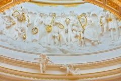 sztuki kościół katolicki wnętrze zdjęcia royalty free