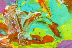 Sztuki kolor malujący bieżący tło ilustracji