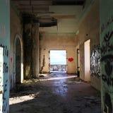 sztuki kolorowa zakrywająca graffiti ulicy ściana Zdjęcia Stock