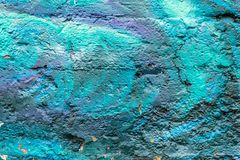 sztuki kolorowa zakrywająca graffiti ulicy ściana Kolorowi graffiti na ścianie Obraz Royalty Free