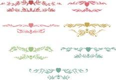 sztuki korony projekta kierowy setu znaczek Obraz Stock