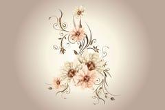 sztuki kwiatów menchie Fotografia Royalty Free