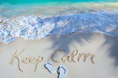 Sztuki lata pojęcie piaskowata plaża zdjęcie royalty free