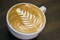sztuki latte Zdjęcia Stock