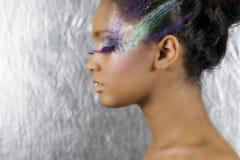 sztuki makeup kobiety fotografia stock