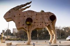 sztuki miasta eland statua Obrazy Stock