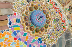 Sztuki mozaiki szkło Obrazy Stock