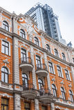 Sztuki Nouveau budować Ryski Fotografia Stock