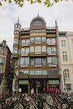 Sztuki nouveau budynek instrumentu muzeum Brussels Obraz Royalty Free
