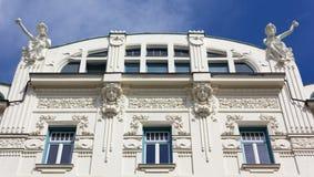 Sztuki Nouveau budynek w Ljubljana Zdjęcie Stock