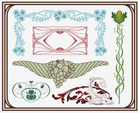 sztuki nouveau skarby ilustracji