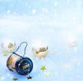 Sztuki 2015 nowego roku szczęśliwy przyjęcie Fotografia Stock