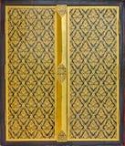 sztuki obrazu świątynny tajlandzki okno zdjęcie royalty free