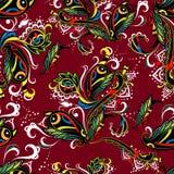 sztuki Oriental deseniowy bezszwowy stylu wektor Zdjęcie Royalty Free
