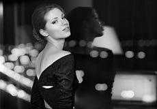 sztuki piękna portreta kobieta Fotografia Stock