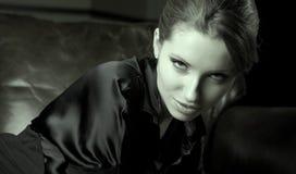 sztuki piękna portreta kobieta Zdjęcia Royalty Free