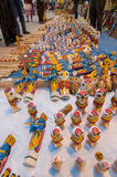 Sztuki praca, Indiańscy rękodzieła uczciwi przy Kolkata Fotografia Stock