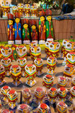 Sztuki praca, Indiańscy rękodzieła uczciwi przy Kolkata Zdjęcie Royalty Free