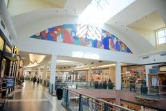 Sztuki praca przy Wolfchase centrum handlowym, Memphis, Tennessee Zdjęcie Stock