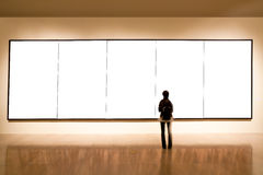 sztuki pustego miejsca ramy galeria Obrazy Royalty Free