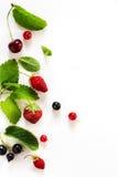 Sztuki słodkiego lata soku owoc świeży tło; lata jedzenie Obrazy Stock