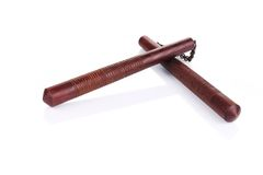Sztuki samoobrony nunchaku broń Zdjęcie Royalty Free