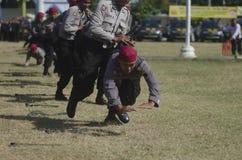 SZTUKI SAMOOBRONY policja Zdjęcie Royalty Free