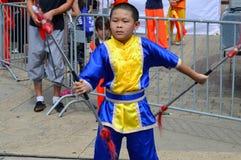 Sztuki Samoobrony przy Chinatown lata jarmarkiem 2016 Fotografia Stock