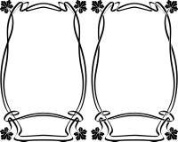 sztuki struktury nouveau Zdjęcie Stock