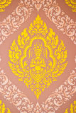 sztuki stylu tekstura tajlandzka Obrazy Stock