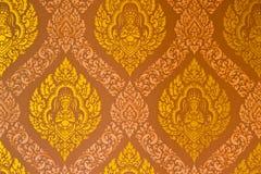 sztuki stylu tekstura tajlandzka Obrazy Royalty Free