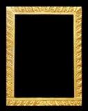 Sztuki Tajlandia sztukateryjny złoto używać robić obrazek ramom Zdjęcia Stock