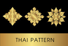 sztuki tajlandzki deseniowy Obraz Stock
