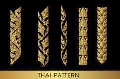 sztuki tajlandzki deseniowy Obrazy Stock