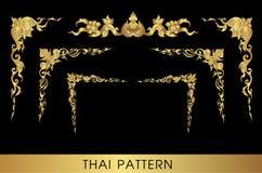 sztuki tajlandzki deseniowy Zdjęcia Stock