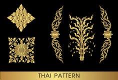 sztuki tajlandzki deseniowy Fotografia Stock