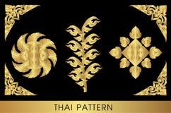 sztuki tajlandzki deseniowy Zdjęcie Stock