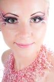 sztuki twarzy kobieta Zdjęcie Royalty Free