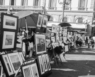 Sztuki ulica Zdjęcia Stock