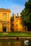 Sztuki uniwersytet w cambridge szkoły wyższa park obraz royalty free