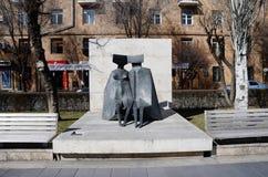 Sztuki współczesnej statua Zdjęcia Royalty Free