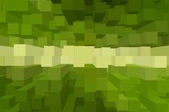Sztuki zieleni bloku koloru abstrakta wzoru tło Zdjęcia Royalty Free