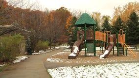 Sztuki ziemia w parku zbiory wideo