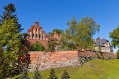 Sztum castle (1335) of Teutonic Order, Poland Stock Photos